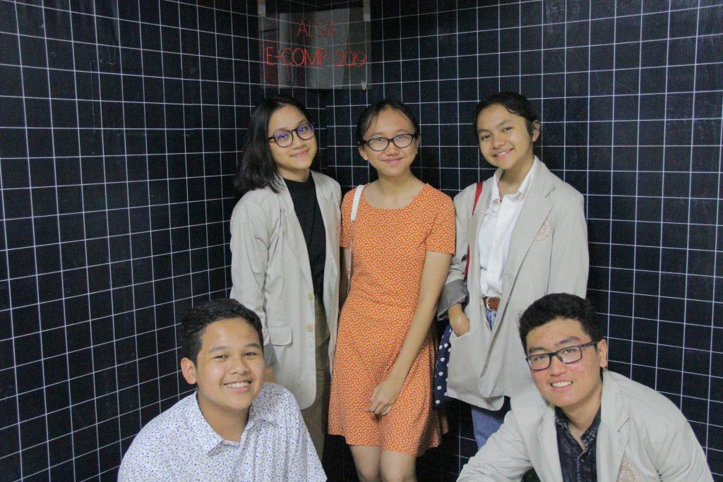ALSA E-Comp 2019's Photobooth